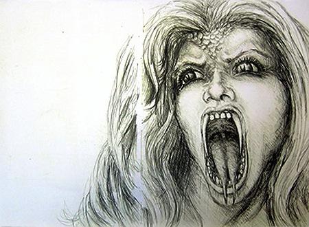 Hrana the vampire