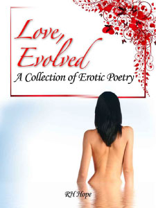 Cover of RH Hope's poetry book Love, Evolved