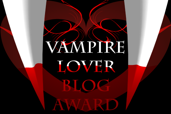 vampire lover blog award