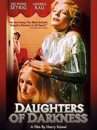 Delphine Seyrig in Daughters of Darkness