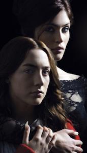 Gemma Arterton and Saoirse Ronan in Byzantium