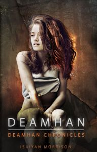 Cover of Isaiyan Morrison's novel Deamhan