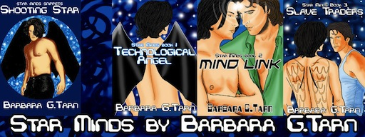 Banner for Barbara G. Tarn's Star Minds series