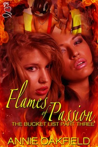 Cover of Flames of Passion by Annie Oakfield
