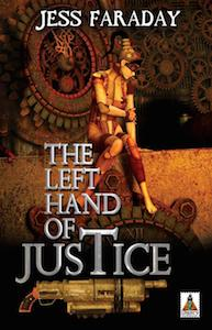 Cover of The Left Hand of Justice by Jess Faraday