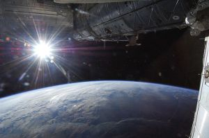 Sun from Earth orbit
