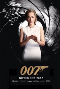 Gillian Anderson as James Bond