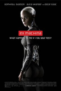 Ex Machina - Alicia Vikander as an artificial intelligence