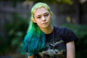 Nicole Maines transgender superhero